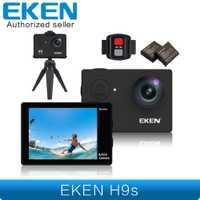 EKEN H9s Cámara de Acción Live Streaming 4 K WiFi Ultra HD resistente al agua EKEN H9 PERÍODO DE SESIONES Mini cámara de los deportes