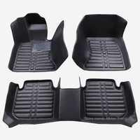 Tapis de sol de voiture spécialement adaptés aux besoins du client pour Lincoln MKZ MKC 3D revêtement de sol de tapis de protection résistant à tous les temps RY210