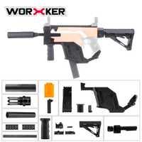 Cubierta de la daga del trabajador versión actualizada Kit modificado Kit de imitación del Vector de CRISS especial para las pistolas de juguete Stryfe modificar piezas de juguete nuevo caliente