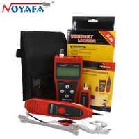 Original noyafa rojo NF-308 RJ45 UTP Cat5 Cat6 diagnóstico tone herramientas buscador de línea telefónica cable Tracker LAN cable de red probador