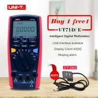 UNI-T UT71A UT71B UT71C UT71D UT71E Digital MultiMeterTure RMS AC DC medidor de voltios amperios Ohm capacitancia Temperatura de retroiluminación