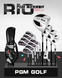 MTG002 PGM para hombre de hierro con bolsa de los clubes completa Golf híbrido cubierta de cabeza cuña putter de conductor de Fábrica Real