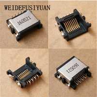 10 piezas nuevo ordenador portátil LAN puerto Ethernet para Dell Vostro 5460, 5470, 5480, 5560, 3442, 3446, 3541 RJ45 hembra conector