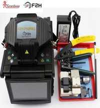 Grandway F2H-740 PRO profesional SM & MM automático FTTH máquina de empalme de fibra óptica empalme de fusión de fibra óptica interior exterior