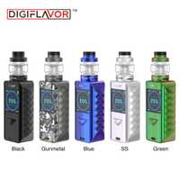 Original Digiflavor borde Kit w/5,5 ml/4 ml espectro Sub Ohm tanque No 18650 batería caja Mod rápido de carga inalámbrico Vape Kit del Drag 2