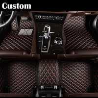 EMS coche tapetes para Kia Sorento Sportage Optima K5 Forte Carens alma 3D coche-estilo de cuero de Anti antideslizante alfombra camisas