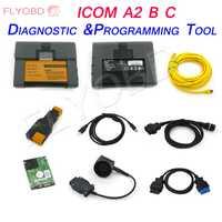 V2018.12 para BMW ICOM A2 A + B + C + de diagnóstico y herramienta de programación con el Software más nuevo 12/2018 V ISTA 4.14.12 ICOM A2 A + B + C + 1 año de orden