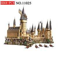 BELA nuevo 11025 mágica de Harry Potter Hogwarts Castle 71043 bloques de construcción ladrillos niños juguetes educativos para niños