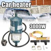 3000 W 220 V agua de circulación calefacción calentador del ciclo del motor precalentador refrigerante calefacción