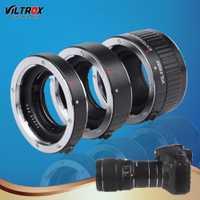 Adaptadores para objetivos anillo viltrox DG-C 12mm 20mm 36mm AF auto focus montaje en metal macro tubo de extensión para DSLR Canon EOS Series