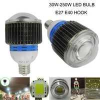 100 W 120 W 150 W 200 W llevó la Alta Luz de la bahía, llevó la lámpara industrial para la fábrica/almacén/supermercados 30 W 40 W 50 W 60 W 80 W led lámpara del bulbo