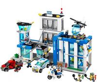 BELA 10424 compatible avec Legoings Ville Police Station 60047 Building Block Modèle Policier jouets éducatifs Pour Enfants