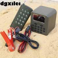 Con 100 ~ 200 m control remoto 50 W altavoz Caza pájaro pato Decoy llamadas Caza pájaro MP3 player 50 W con temporizador