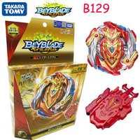 Original Takara Tomy Beyblade explosión fafnir B-129 Super Z despertar Akiris explosivos giroscopio juguete