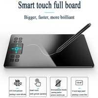 VEIKK A50 versión actualizada tableta gráfica y gráficos en los niveles de 8192 profesional TYPE-C Digital tabletas de dibujo de animación con regalos