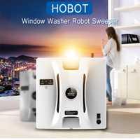 HOBOT Ventana de ventana Robot de limpieza de alta succión Anti-caída de Control remoto seco húmedo limpieza lavadora barredora Z25