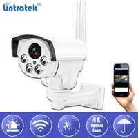 Lintratek IP Bullet cámara de seguridad 960 P 4X Zoom óptico Wifi vigilancia CCTV Cámara IP66 impermeable Camara al aire libre