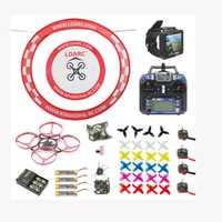 75 MM sin escobillas de Metal marco FPV Racing Drone RTF con Crazybee F3 Pro Flysky RC FPV ver gafas arco delantal actualizado Mobula 7