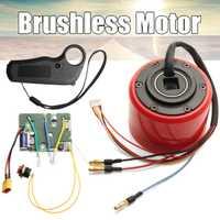 Kit de Motor de cubo de monopatín eléctrico con sensor Hall inalámbrico 2,4g transmisión de control remoto para Motor de patín eléctrico DIY