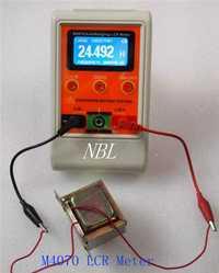 Profesional capacitancia inductancia de M4070 multímetro lineal LCR puente Metro 100 H 100mF 20MR con SMD Clip de prueba