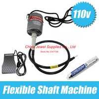 Envío de la venta caliente 220 V Foredom eje flexible Dremel Motor y Motor de pulido