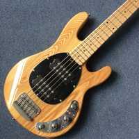 Nuevo estilo de alta calidad de 5 string bass guitarra Arce diapasón de el cuerpo de Fraxinus mandshurica ¡envío gratis