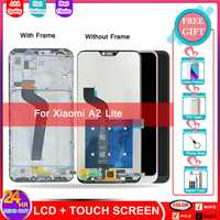 LCD para Xiaomi A2 Lite pantalla LCD digitalizador de pantalla táctil de reemplazo para Xiaomi Redmi 6 Pro reemplazo de pantalla Pancel marco