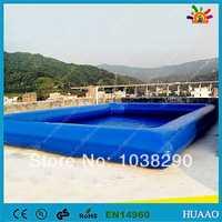 Envío gratuito piscina inflable con kit de reparación y soplador CE/UL gratuito