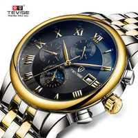 Relojes para hombre, relojes mecánicos automáticos para hombre, relojes de pulsera para hombre con fecha luminosa a prueba de agua, relojes de pulsera para hombre y niño 2019