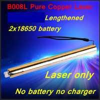 [ReadStar] RedStar tubo alargado estilo B008L alta quemadura láser azul lápiz puntero láser sólo sin cargador batería
