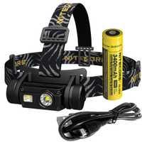 Nitecore HC65 18650 recargable LED faro CREE U2 1000LM salida Triple al aire libre faro linterna impermeable envío gratis