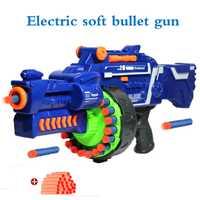 Orbeez eléctrica suave bala pistola de juguete Airsoft órbitas pistola aire Rifle de francotirador pistola de plástico de juguete para niños regalos adecuado arma