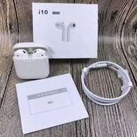 Nuevo I10 TWS aire vainas Mini auricular Bluetooth inalámbrico auriculares con caja de carga micrófono para Iphone7 8; X Samsung Android Xiaomi