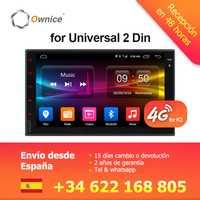 Ownice K1 K2 Octa 8 Core Android 2G RAM 32 GB ROM 4G LTE SIM red Coche GPS 2 din Universal Radio del coche reproductor de dvd