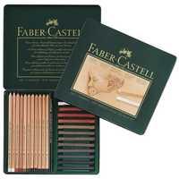 Scribble pluma Faber Castell 25 unidades de lápiz croquis artículo carbono combinación 112969