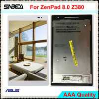 LCD Original para ASUS ZenPad 8,0 Z380 Z380C Z380KL Z380m pantalla LCD + asamblea de pantalla táctil digitalizador + marco