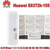 Huawei E8372h-155 4G LTE 150 Mbps USB módem Router WiFi