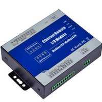 Module d'acquisition de données Ethernet Modbus TCP à distance IO prend en charge 5 liaisons TCP compteur d'impulsions 12-36 V avec 4 sorties relais M120T