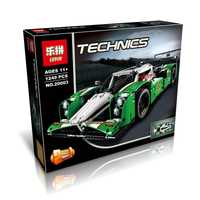 1249 piezas 20003 Serie Técnica 24 horas Race Car Model Building Kit Block Brick juguetes vehículos Compatible Legoing Creator 42039