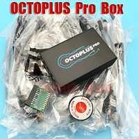 2018 versión Octoplus Pro Box/octoplus pro jtag box para Samsung para LG + eMMC/JTAG activado) + con 7 en 1 Cable/Adaptador
