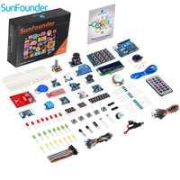 Sunfounder RFID v2.0 Starter Kit para Arduino Uno R3 mega nano circuito Sensores tablero electrónico para Arduino