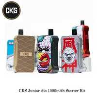 Cigarrillos electrónicos CKS Junior Aio 1000 mAh Kit de Inicio 3 mL para malla de Ohm/ohm MTL/cerámica 1.5ohm bobina VS vapeo perdido Orión
