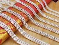 De plata pura S990 Collar para hombres de cadena de plata de cumpleaños, regalo de Navidad, regalo de los hombres 55 cm de longitud 40G envío gratis