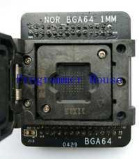 Envío Gratis 100% original ni BGA64 adaptador para ni nand proman tl86_plus proman hembra adaptador de 1,0mm 11*13mm