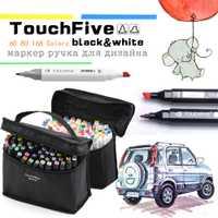Animación Diseño Gráfico de arte marcadores Touchfive/30/40/60/80/168 colores pluma marcador Set boceto dibujo marcador plumas de arte