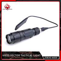 Noche evolución Airsoft militar KWA CRISS Vector luz táctica Softair caza linterna pistola 150 m rango para Picatiny Rail