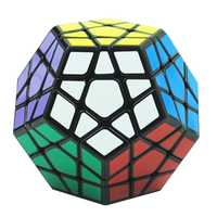 Megaminx de plástico cubo mágico Mini juego de antiestrés juguete Brinquedos Spinner mano Cubos Magicos rompecabezas para niños 50D0573