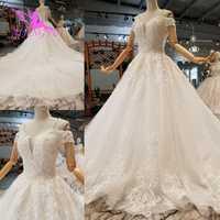Vestidos de novia rusos AIJINGYU cerca de mi Crop Top 3 en 1 Hangzhou Long Prettys Weddig Gown foto Real