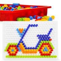 230 piezas DIY fantasía bloques de construcción creativos bloques de juguete educativo niño niña interconectar bloques juguetes para niños regalo de nacimiento