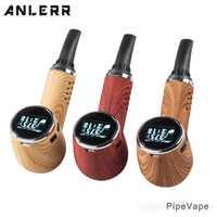 Cigarrillo Electrónico de 1100 mAh TC Kit de vaporizador de hierba seca con cámara de cerámica OLED